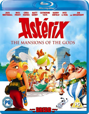 Asterix The Mansions of the Gods 2014 Dual Audio BRRip 480p 300Mb