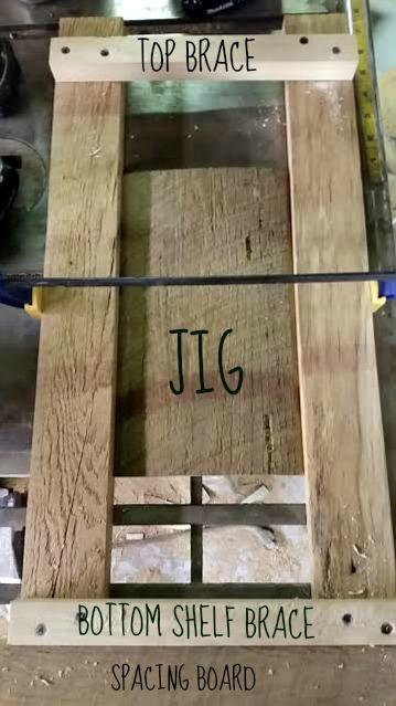 side table, legs, jig, reclaimed wood, https://goo.gl/HQ8AGd
