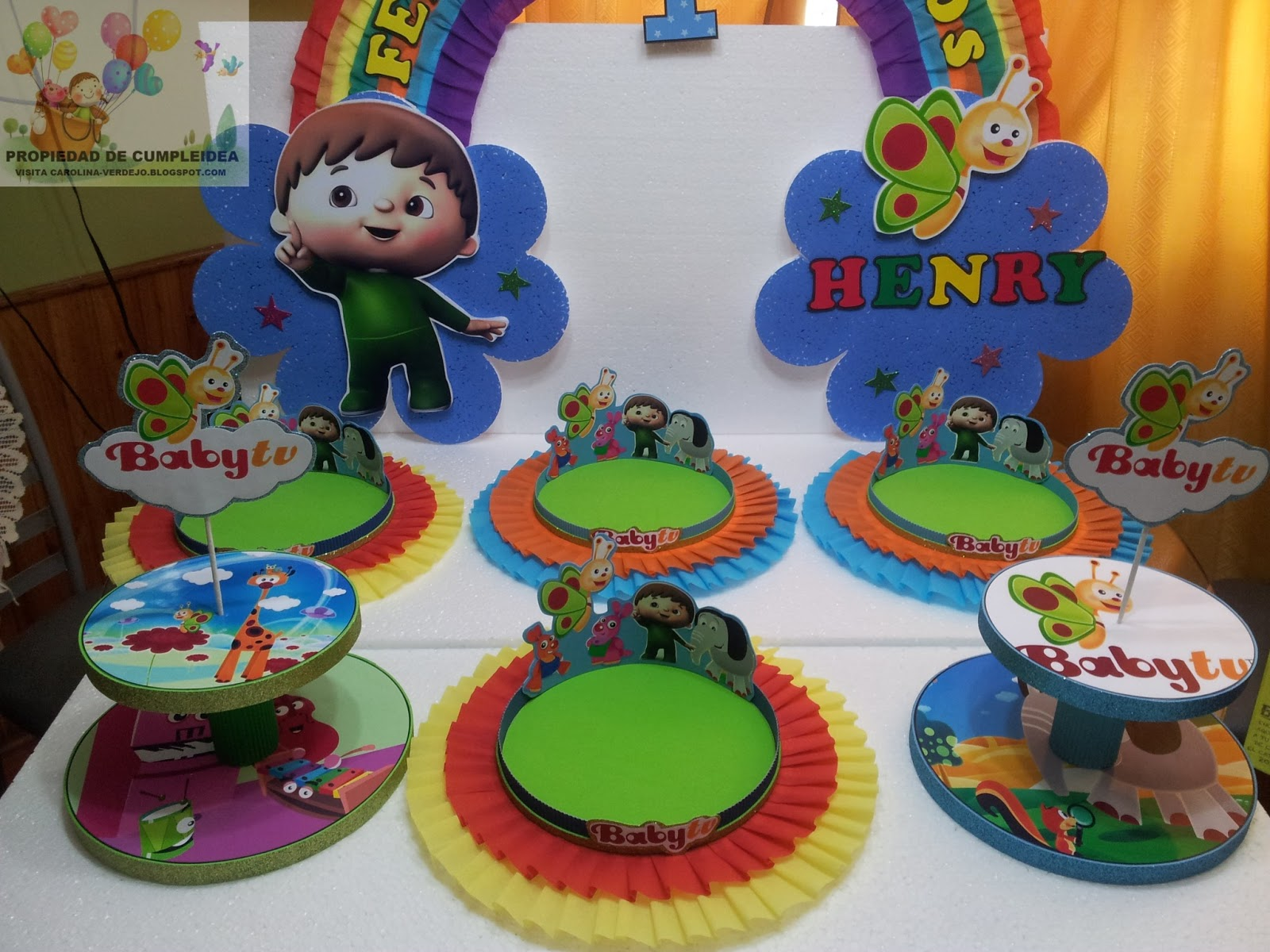 Decoraciones infantiles baby tv for Decoracion e