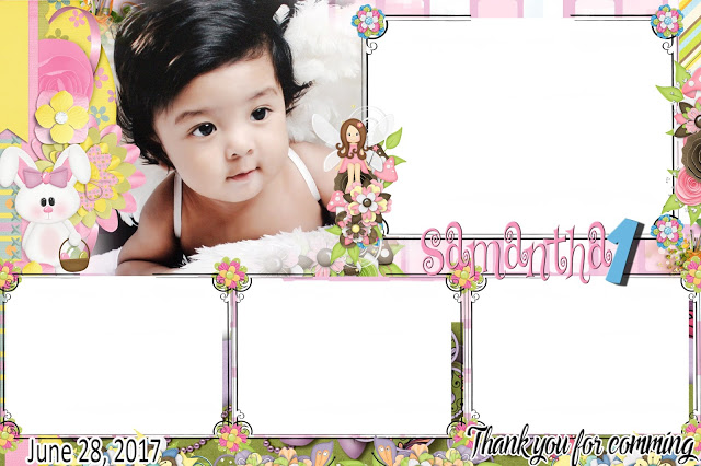cutest 1st birthday sample photo booth