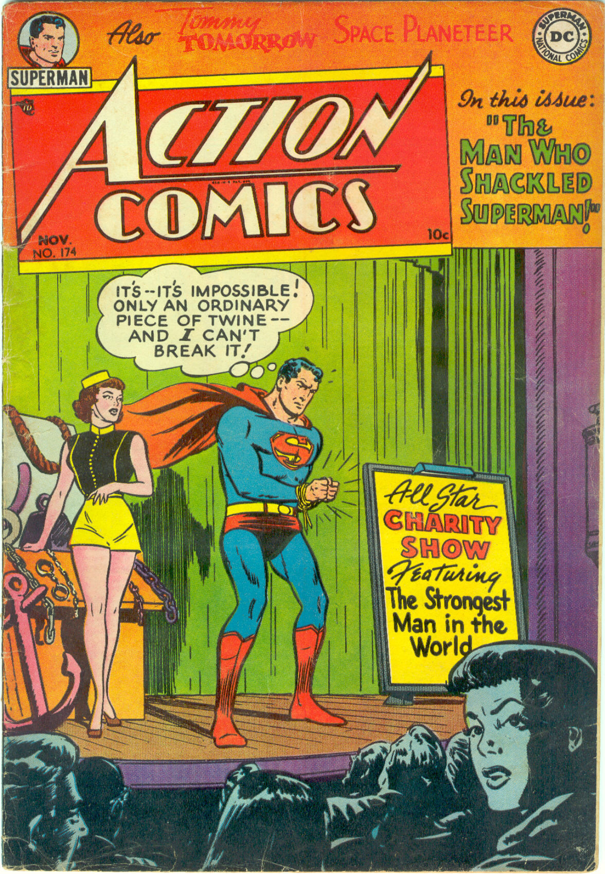 Read online Action Comics (1938) comic -  Issue #174 - 1