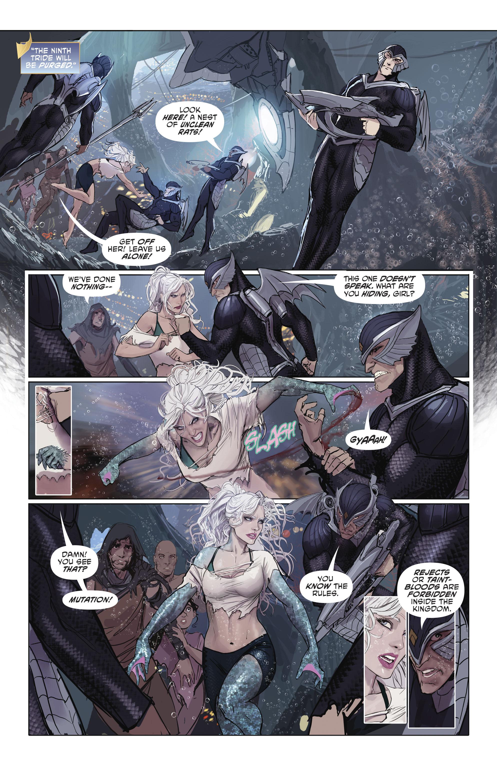 Read online Aquaman (2016) comic -  Issue #25 - 23