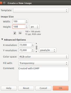 Membuat Favicon Baru Di GIMP