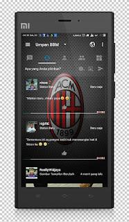 BBM MOD AC Milan Base v3.1.0.13 APK Terbaru 2016 Anti Lemot 3