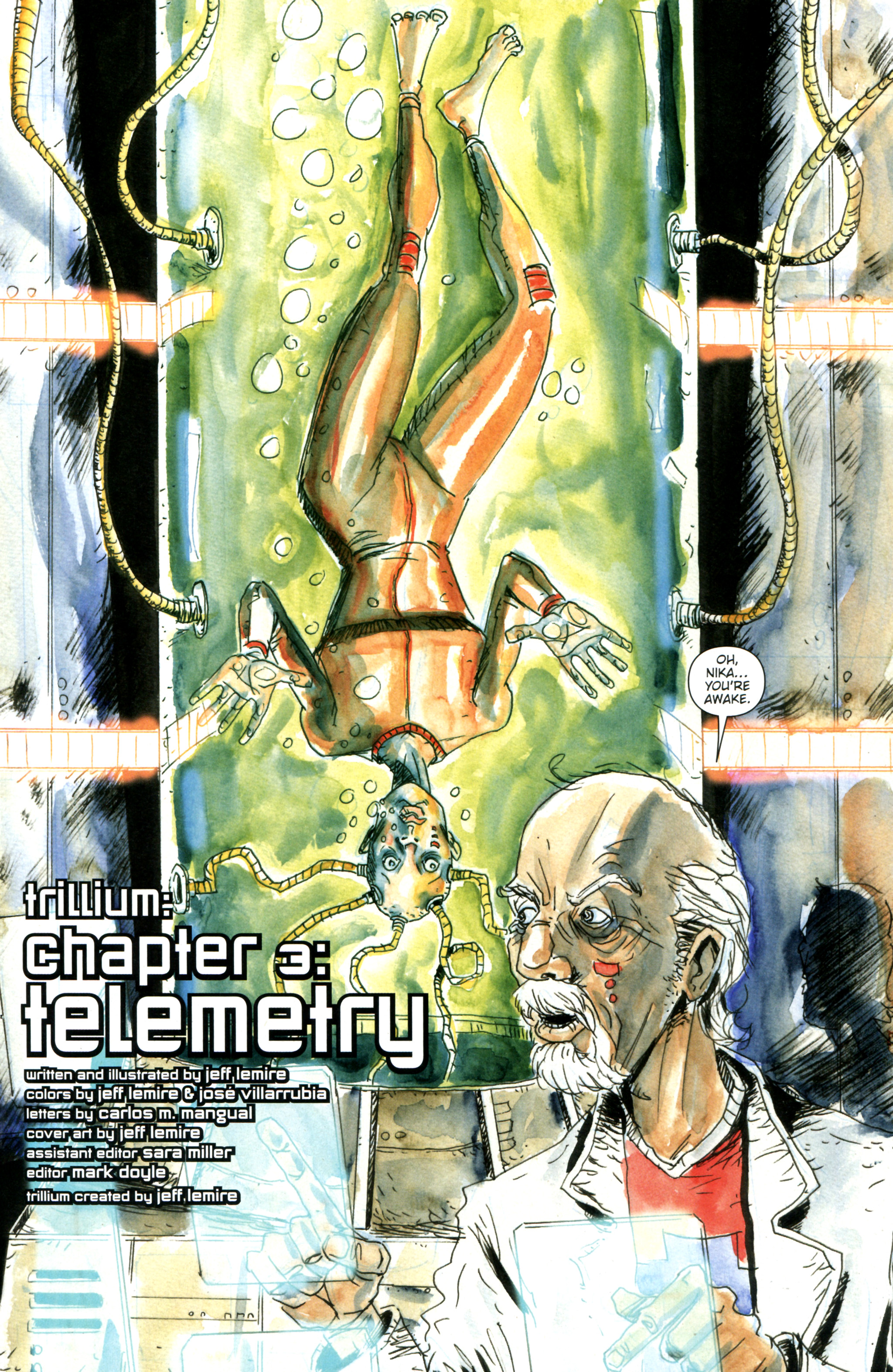 Read online Trillium comic -  Issue #3 - 4