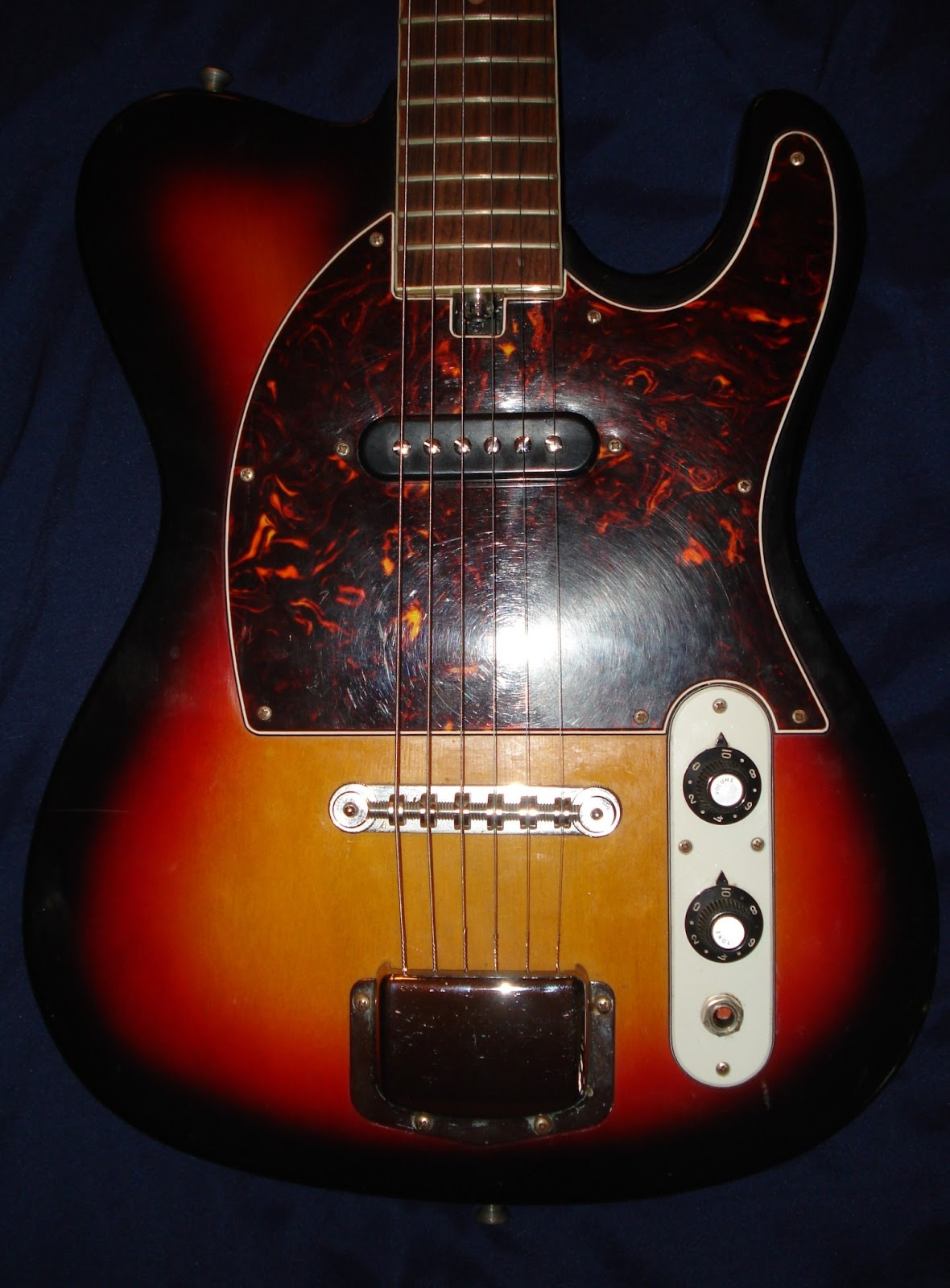socal gear museum 1970s hohner telecaster electric guitar. Black Bedroom Furniture Sets. Home Design Ideas