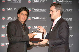 Shahrukh unveils Tag Heuer's Carrera series