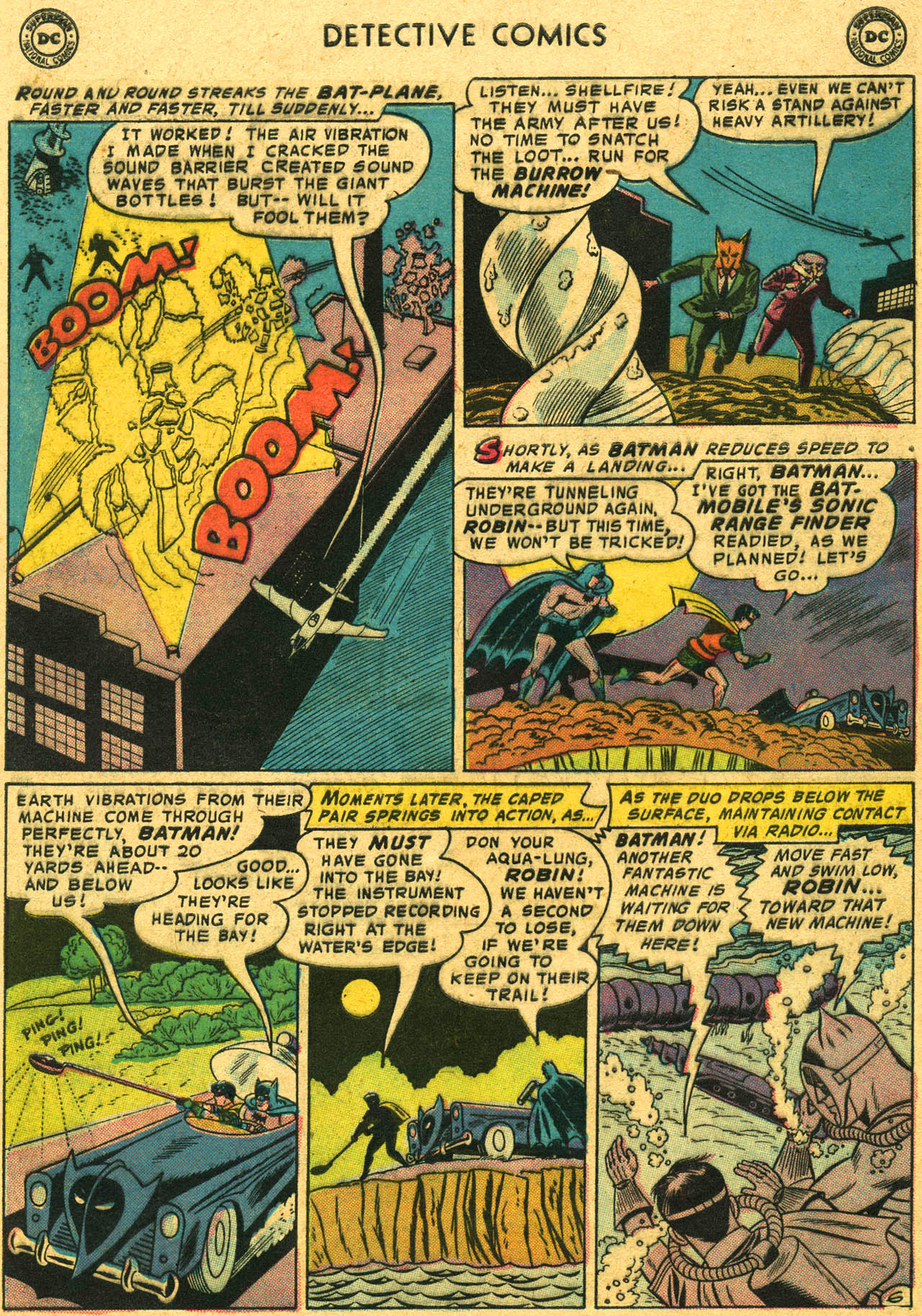 Read online Detective Comics (1937) comic -  Issue #253 - 8