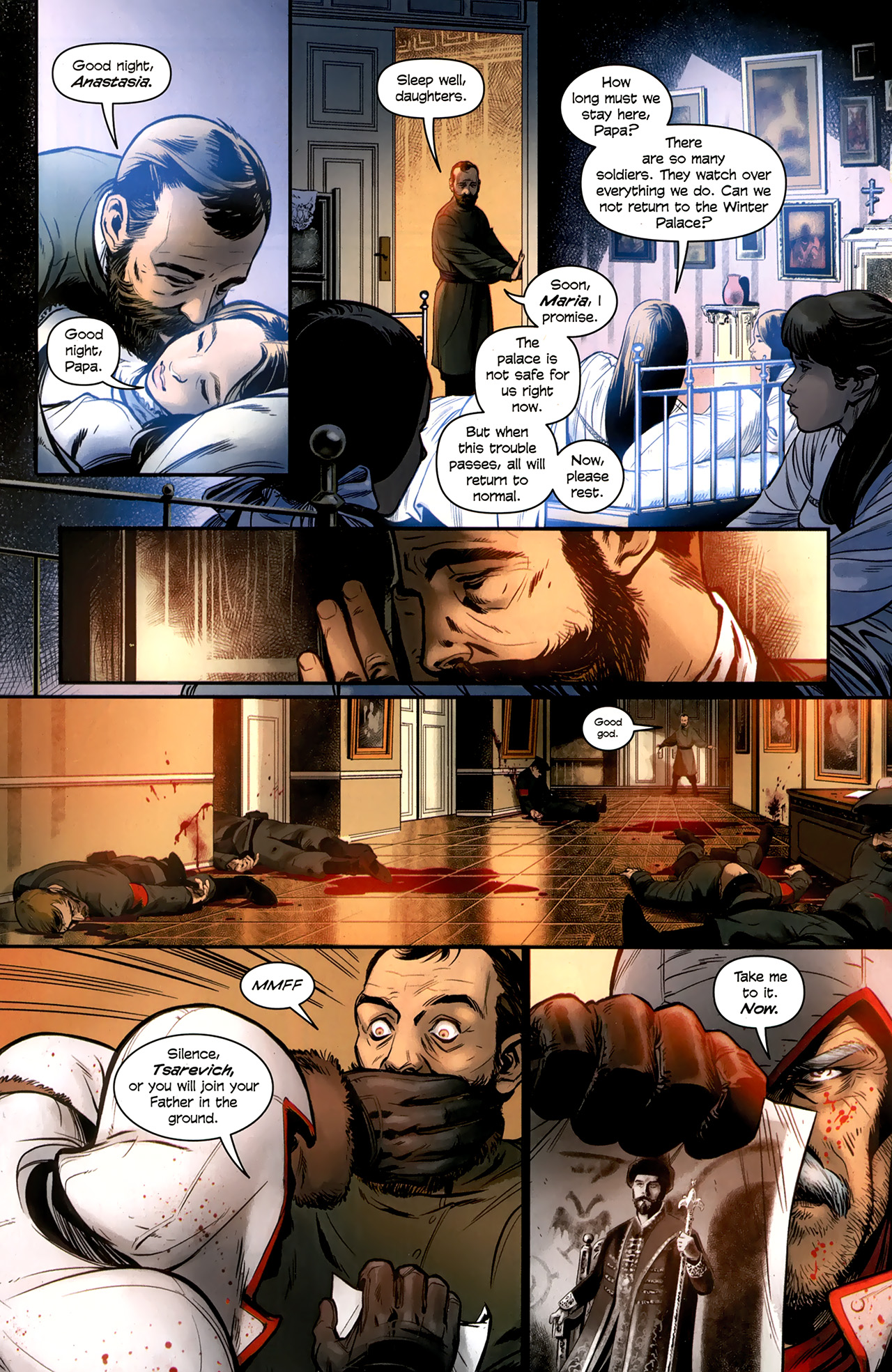 Read online Assassin's Creed: The Fall comic -  Issue #3 - 11