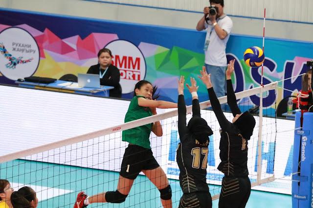 Cúp các CLB nữ vô địch châu Á 2018: VTV Bình Điền Long An thua Gadura (Indonesia)