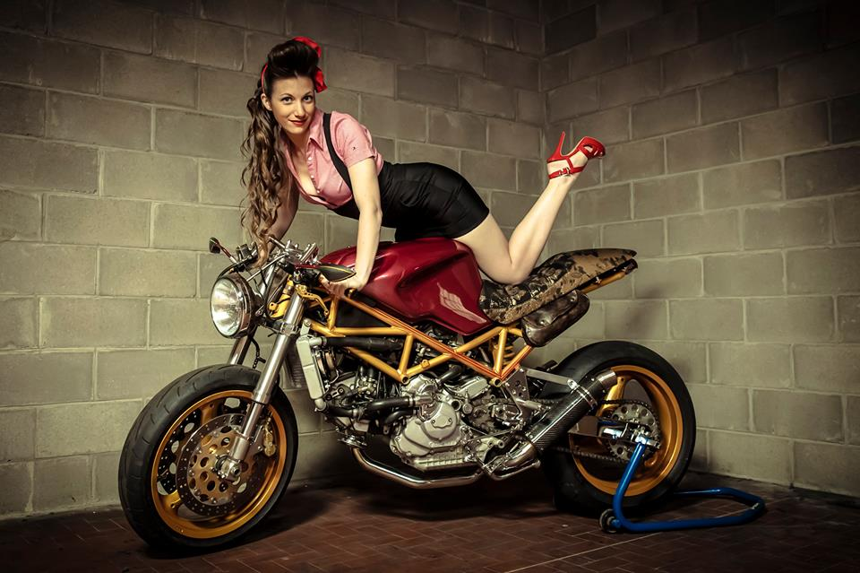 Motorcycle Girl Wallpaper Ducati St2 By Sagari Rocketgarage Cafe Racer Magazine