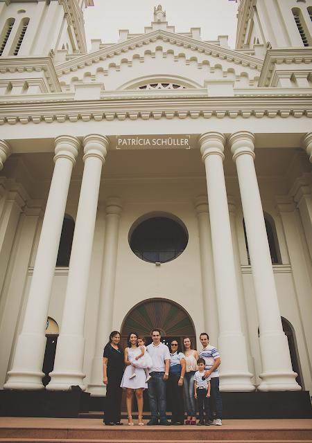 Batizado Alice Patrícia Schüller Fotografias Rio do Sul Catedral
