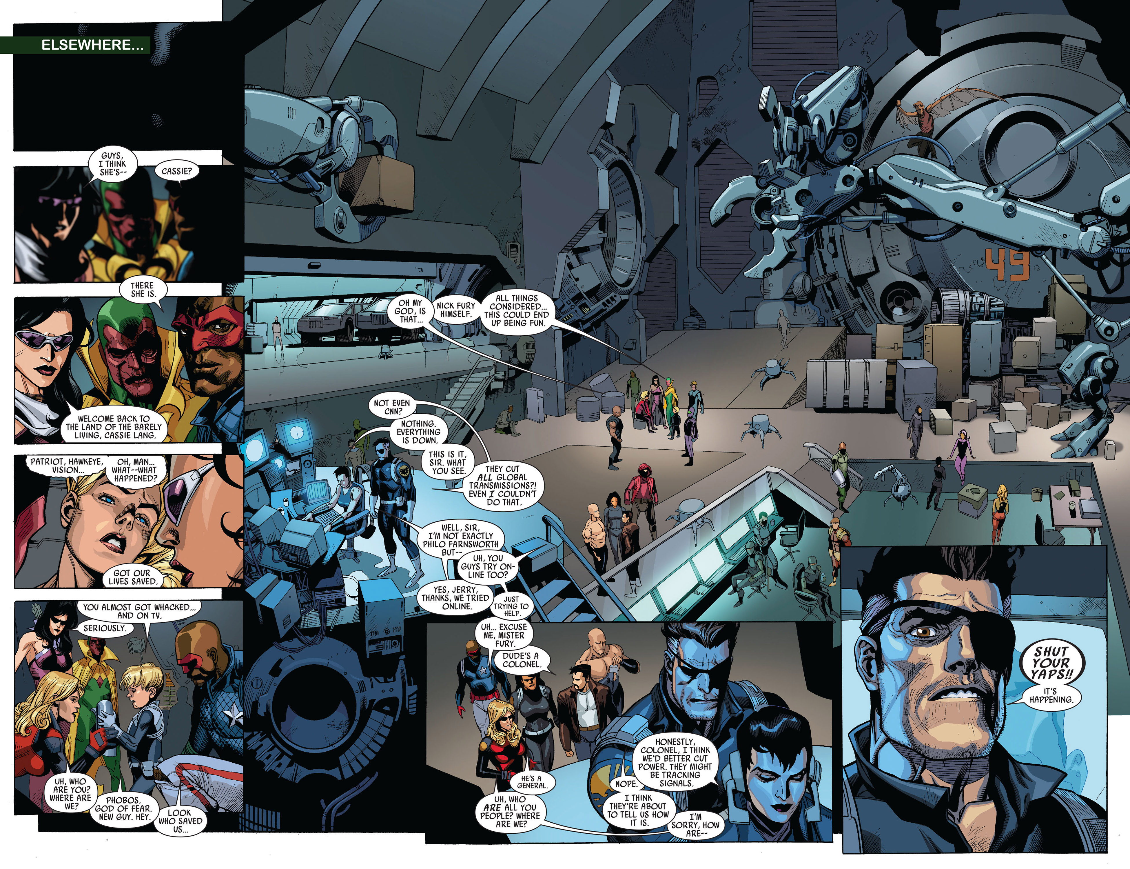 Read online Secret Invasion comic -  Issue #5 - 5