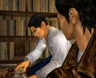 Fuku-san sorts the money
