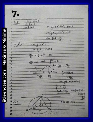 maxima and minima notes5
