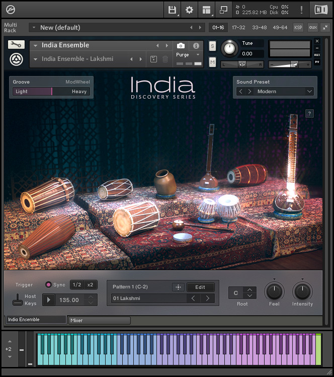 Native Instruments - Discovery Series India KONTAKT Library