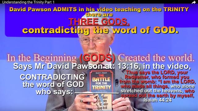 False teachers teaching the Catholic TRINITY.