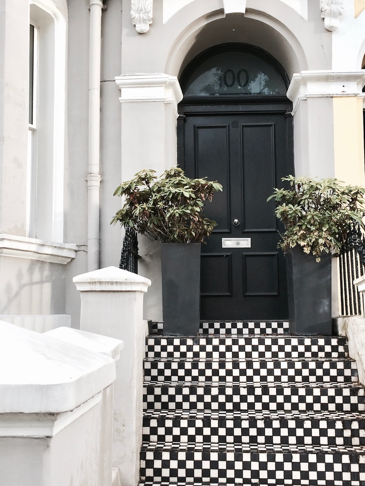 Notting Hill Walk Walking Route Tour Travel Diary www.theblondelion.com