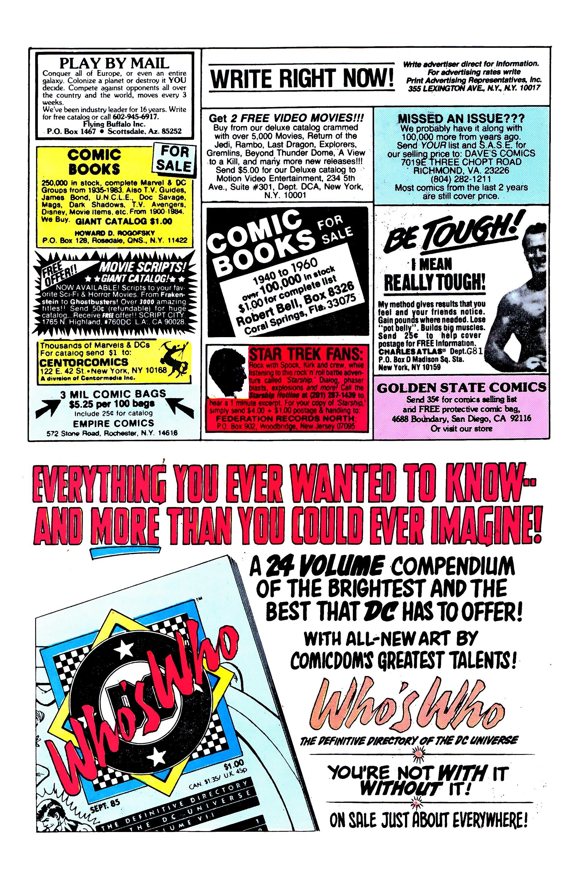 Read online Secret Origins (1986) comic -  Issue #3 - 23