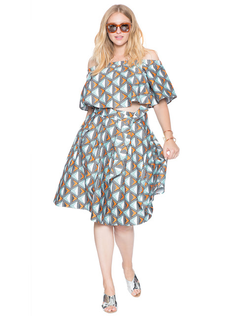 Plus Size African Print Skirts and Dresses perfect For Summer