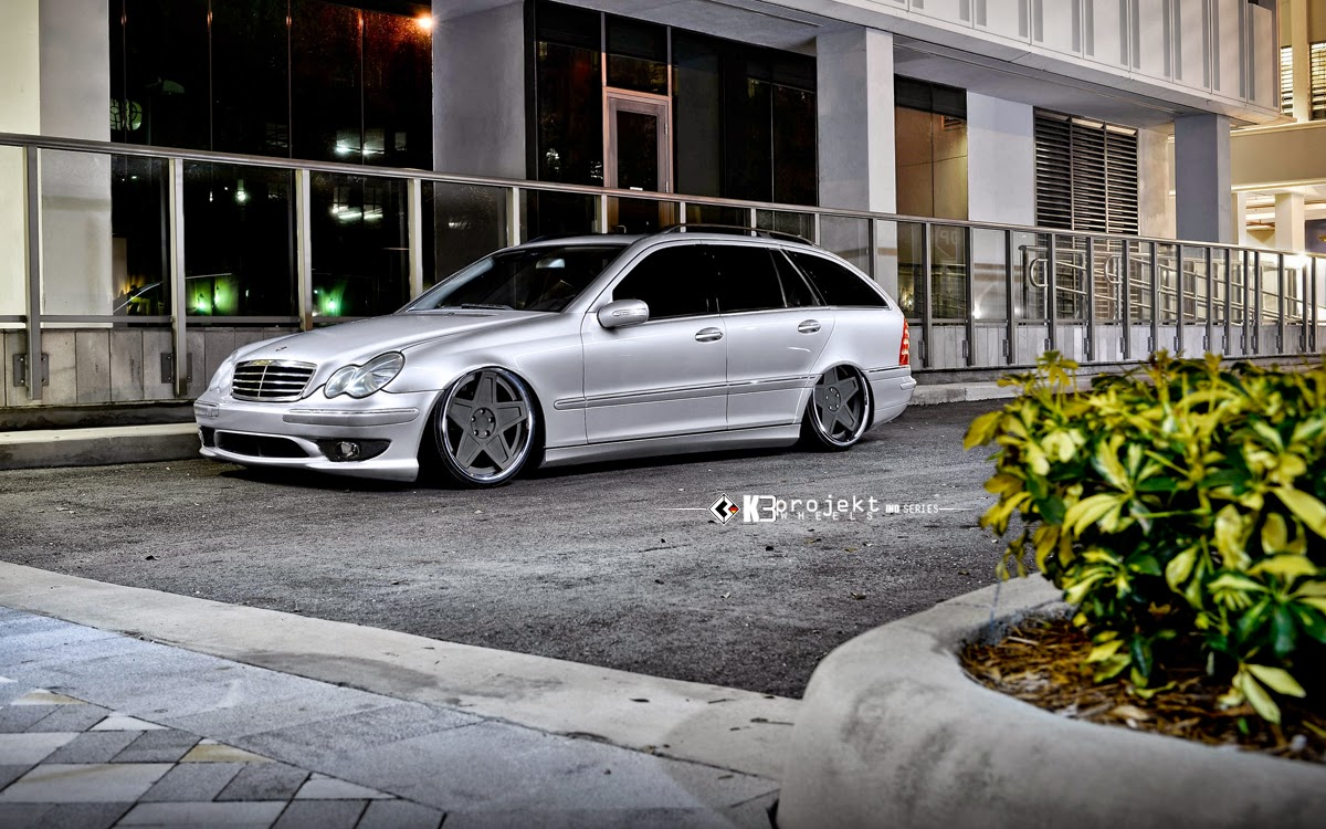 Brabus G Wagon >> Mercedes-Benz S203 Wagon on K3Projekt 5SG Wheels   BENZTUNING