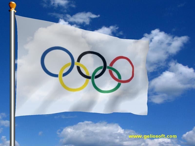 Jorja Olympic Flag