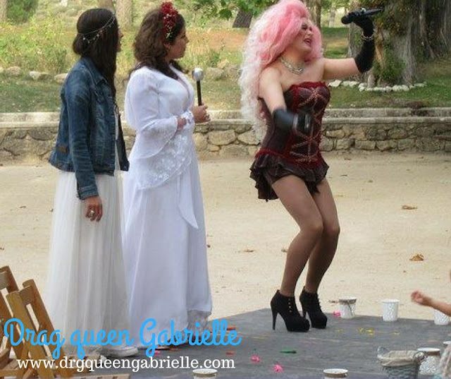 Espectáculo drag queen Gabrielle navacerrada - Boda