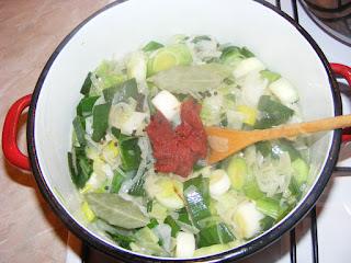 Preparare mancare de praz retete culinare,