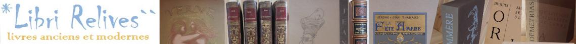 Blog de Libri Relives, librairie en ligne