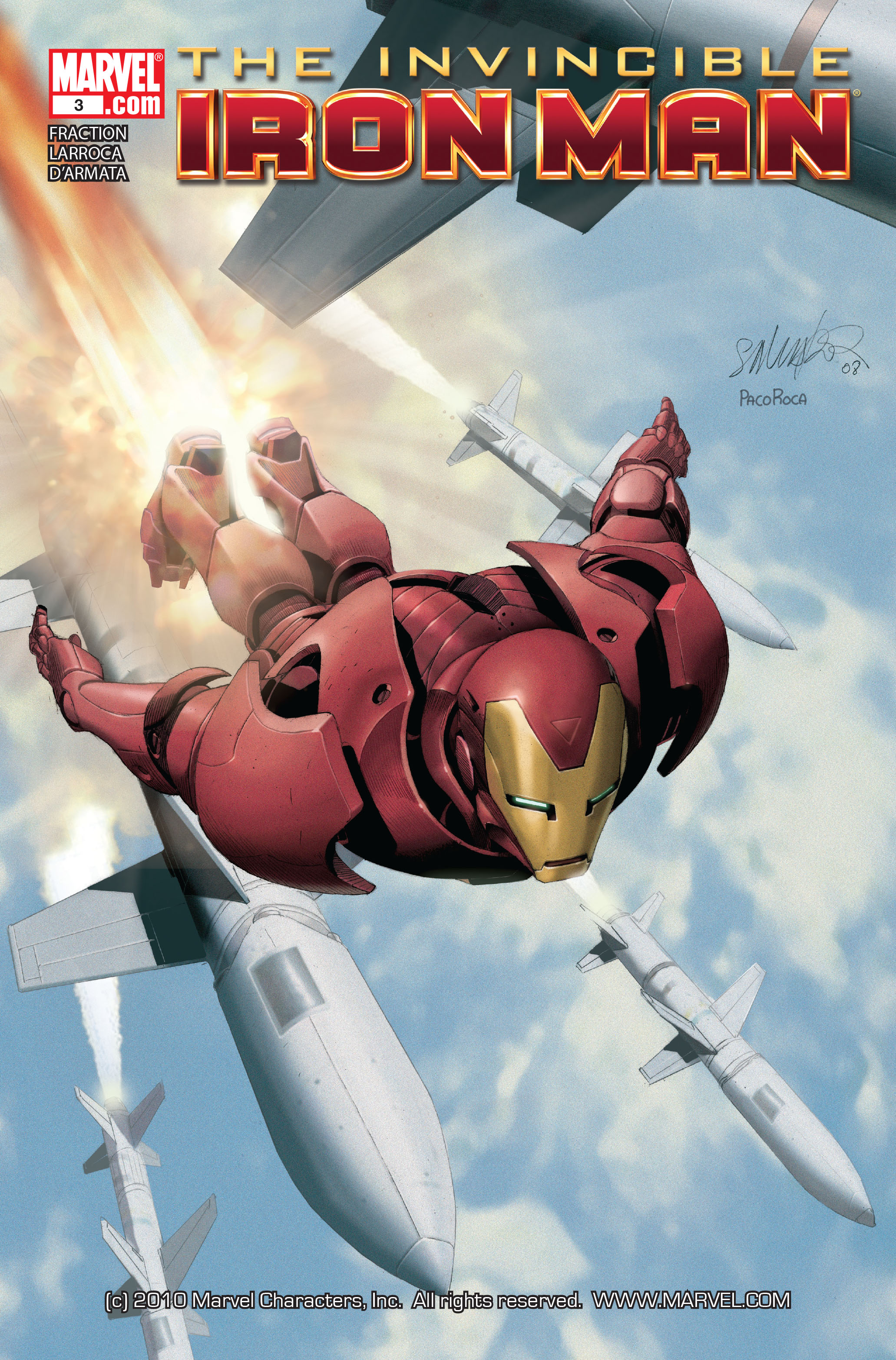 Invincible Iron Man (2008) 3 Page 1