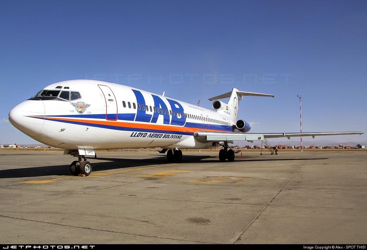 Lab Boeing 727 Www Lloydaereobolivianofriends Com