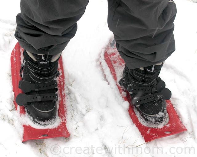 msr tyker kids snowshoes