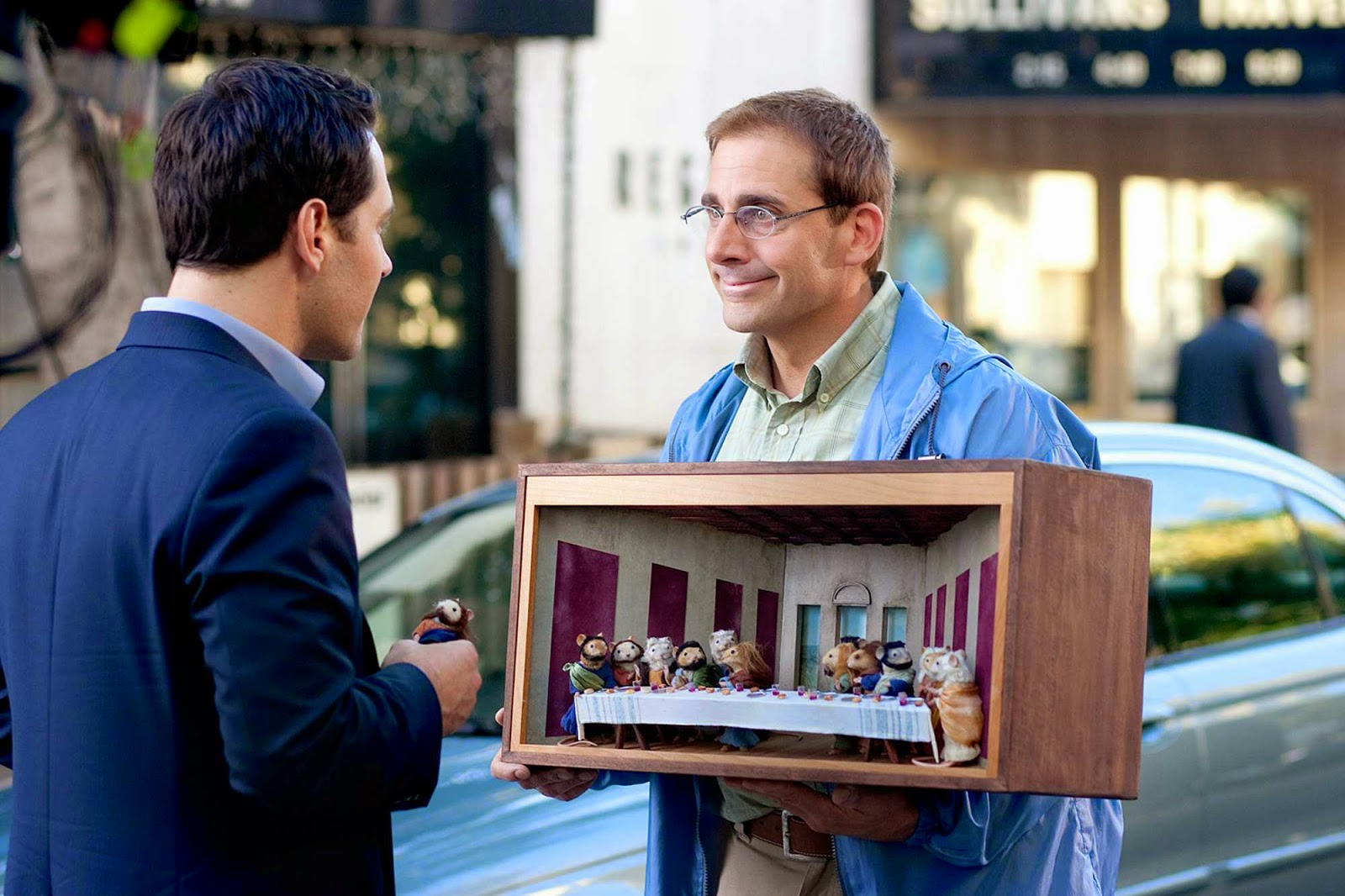 Dinner for Schmucks: Steve Carrel  & Paul Rudd| A Constantly Racing Mind