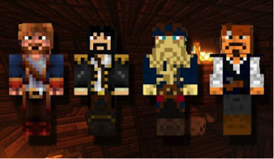 Pirates of the Caribbean Sea in Minecraft