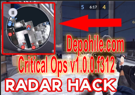 Critical Ops v1.0.0.f312 Radar,Geri Tepme,Silah Hileli Mod Apk
