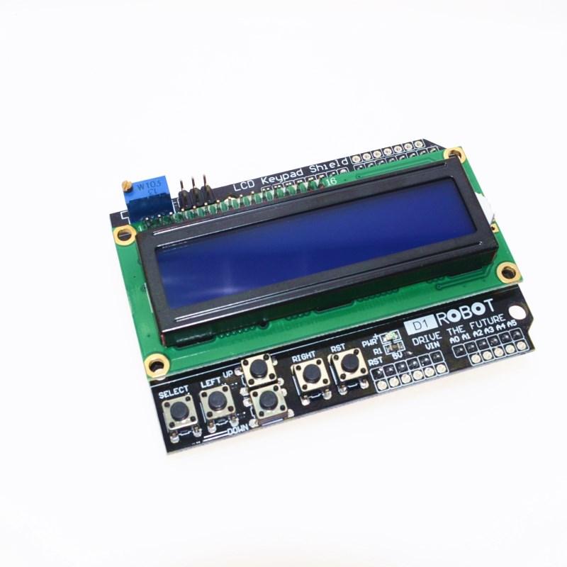 STM32 Без страху: STM32: Підключення 1602 LCD Keypad Shield до