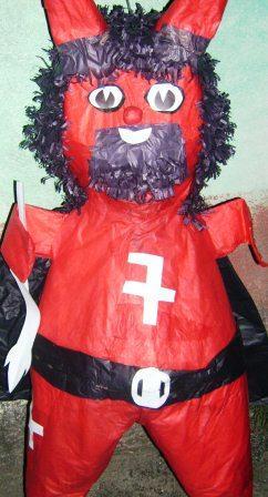 Piñata del diablo