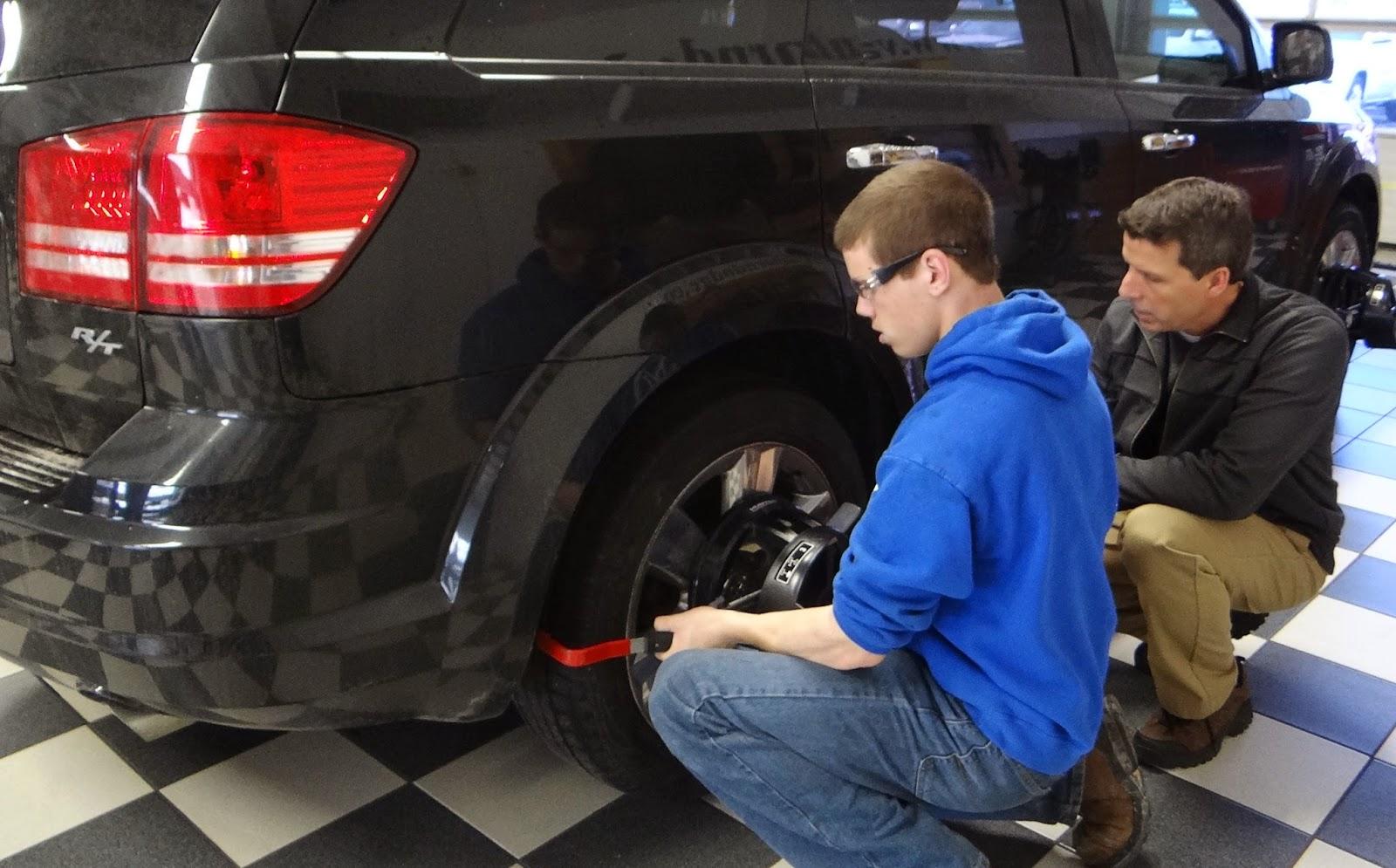 Sheboygan County Budget Auto >> Van Horn Auto Group Blog: Van Horn Automotive Hosts Plymouth High School Auto Shop Class