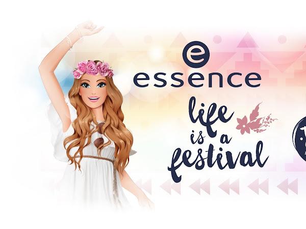 Novidades - Linha Life is a Festival Essence