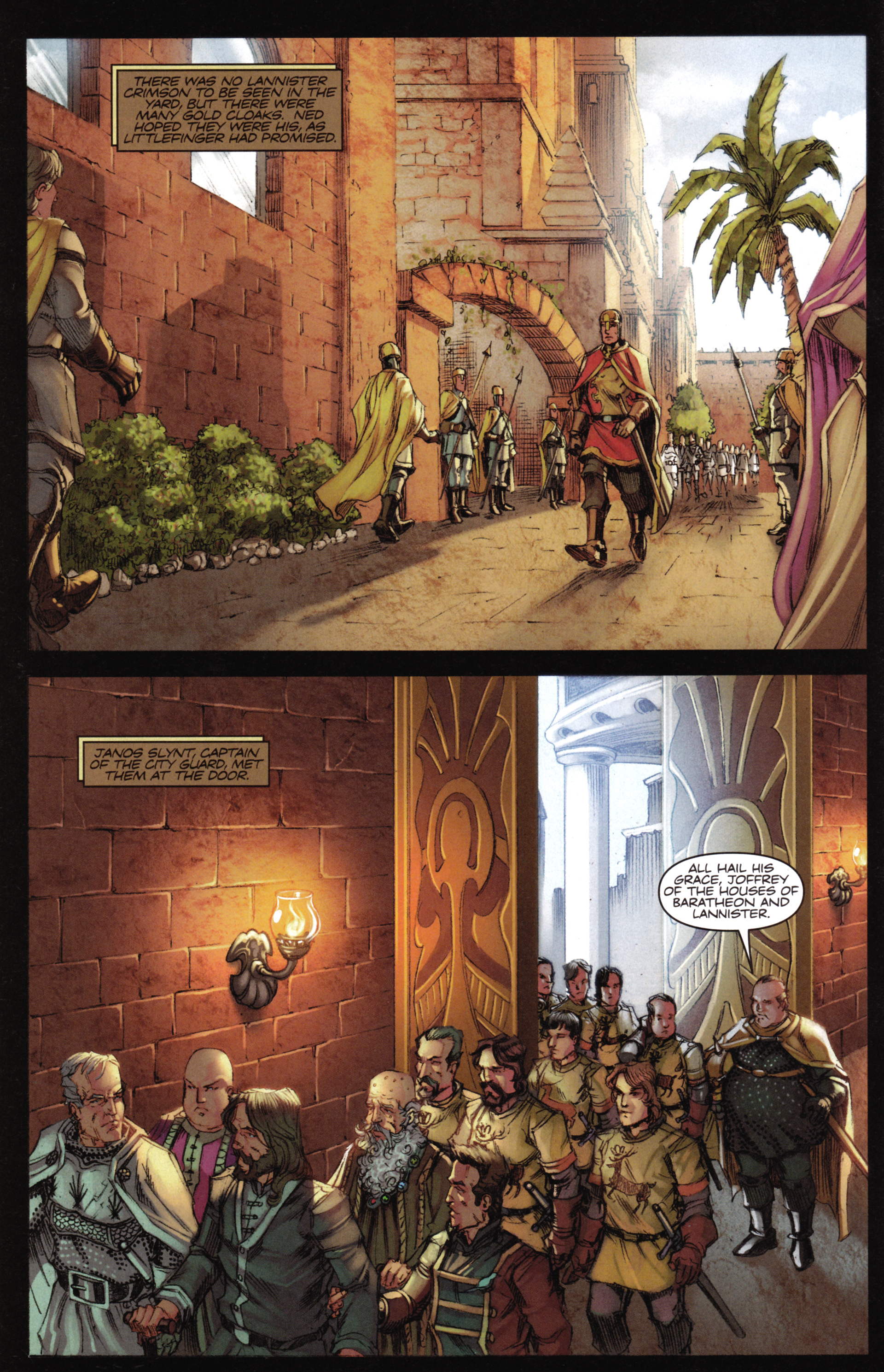 Read online A Game Of Thrones comic -  Issue #16 - 8