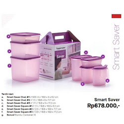Smart Saver Tupperware <p>Rp508.500</p>