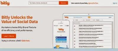 Bit.ly - Top 6 URL Shorteners - Penyingkat Link Terbaik