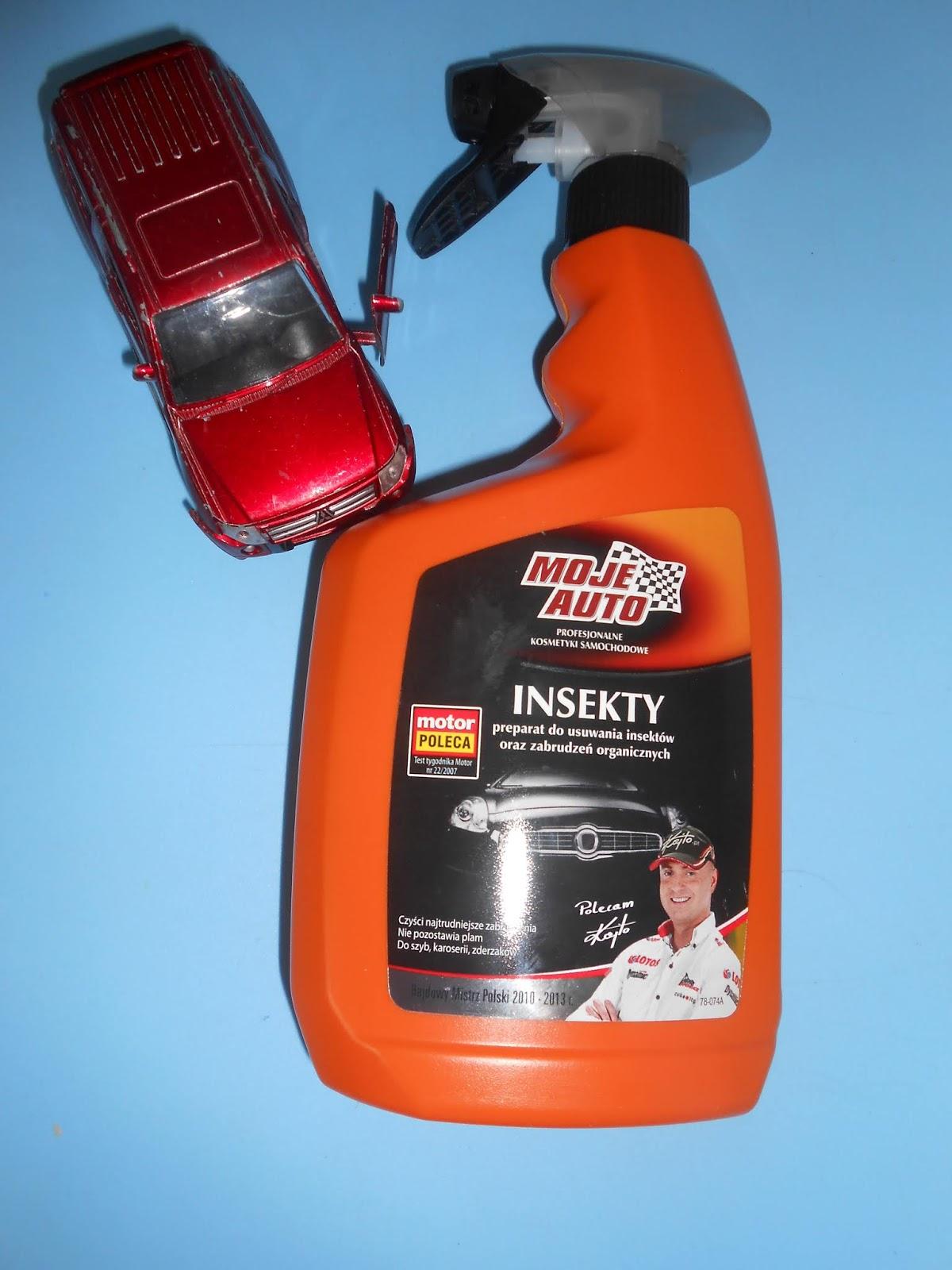 MOJE AUTO- INSEKTY preparat do usuwania insektów oraz zabrudzeń organicznych