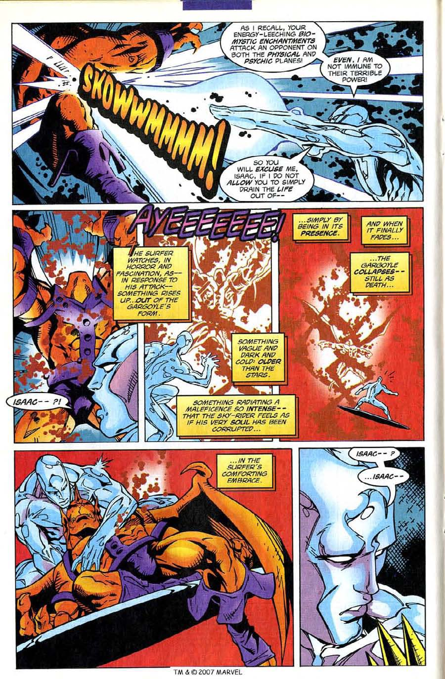 Read online Silver Surfer (1987) comic -  Issue #139 - 16
