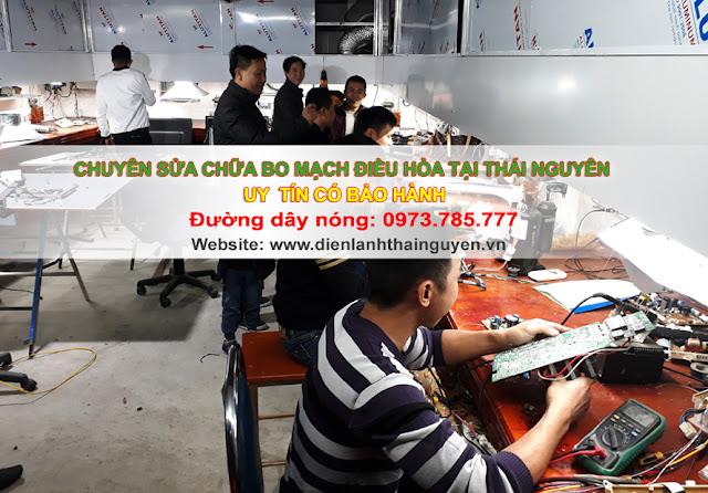 Sửa bo mạch Điều Hòa tại Tp.Thái Nguyên