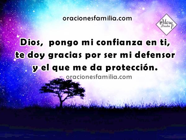 Oración de la noche, dormir con Dios que vigila mi sueño, frases y oración antes de dormir por Mery Bracho.