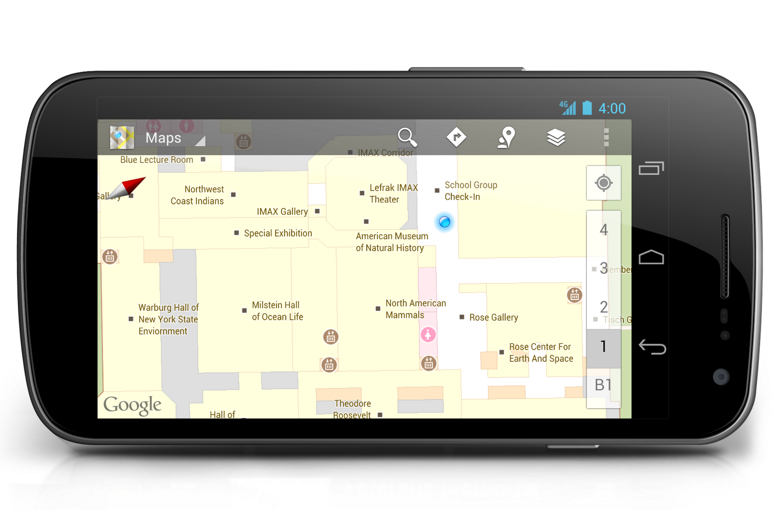 Official Google Blog: Indoor Google Maps help you make your way ...