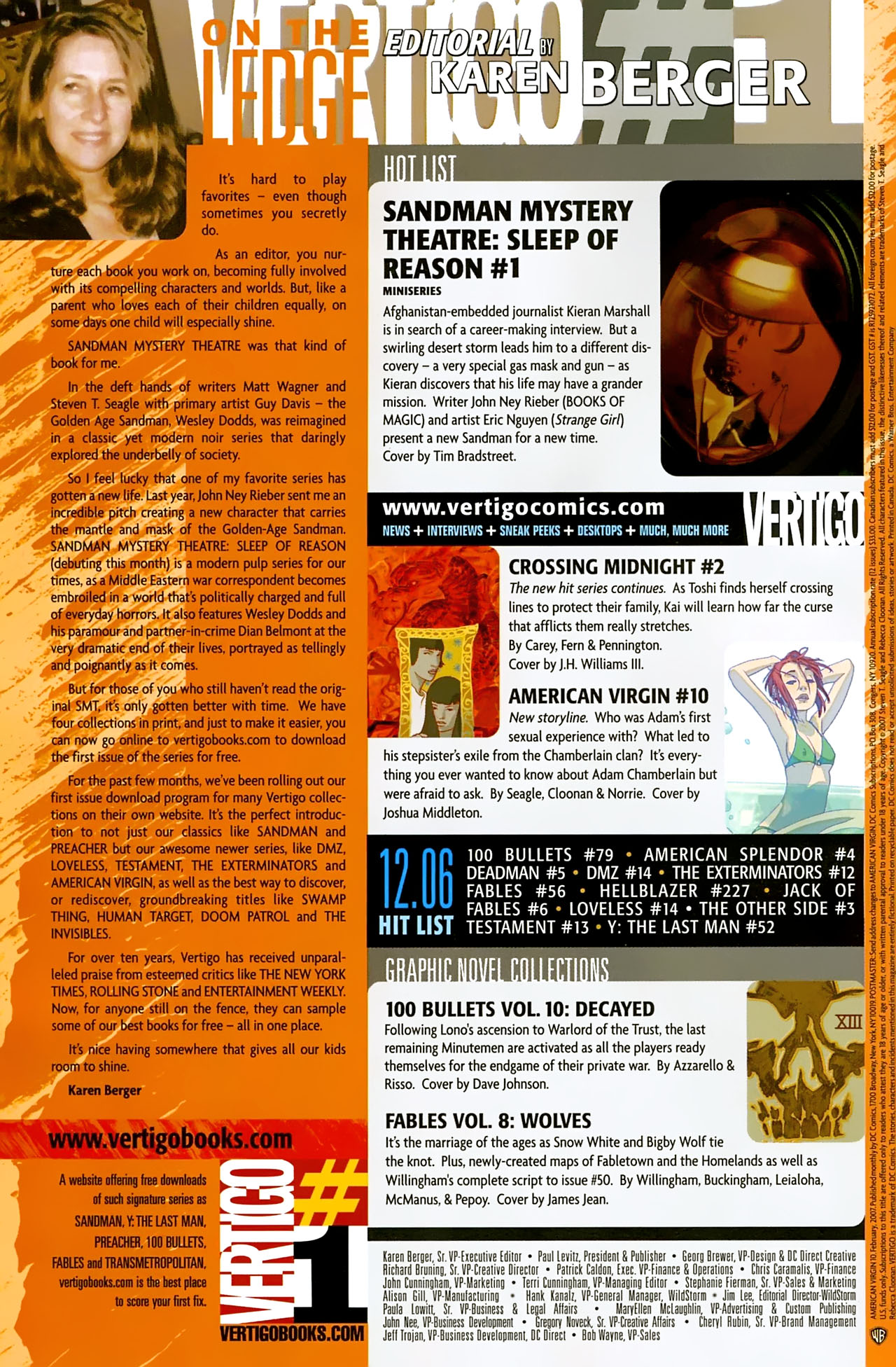 Read online American Virgin comic -  Issue #10 - 22