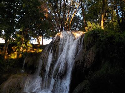 Waterfall lúčky