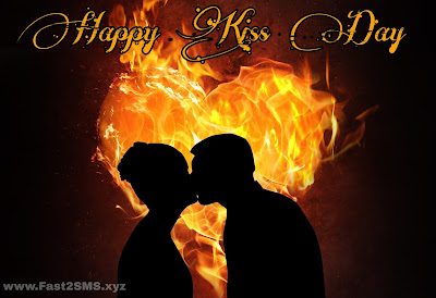 happy kiss day imagel